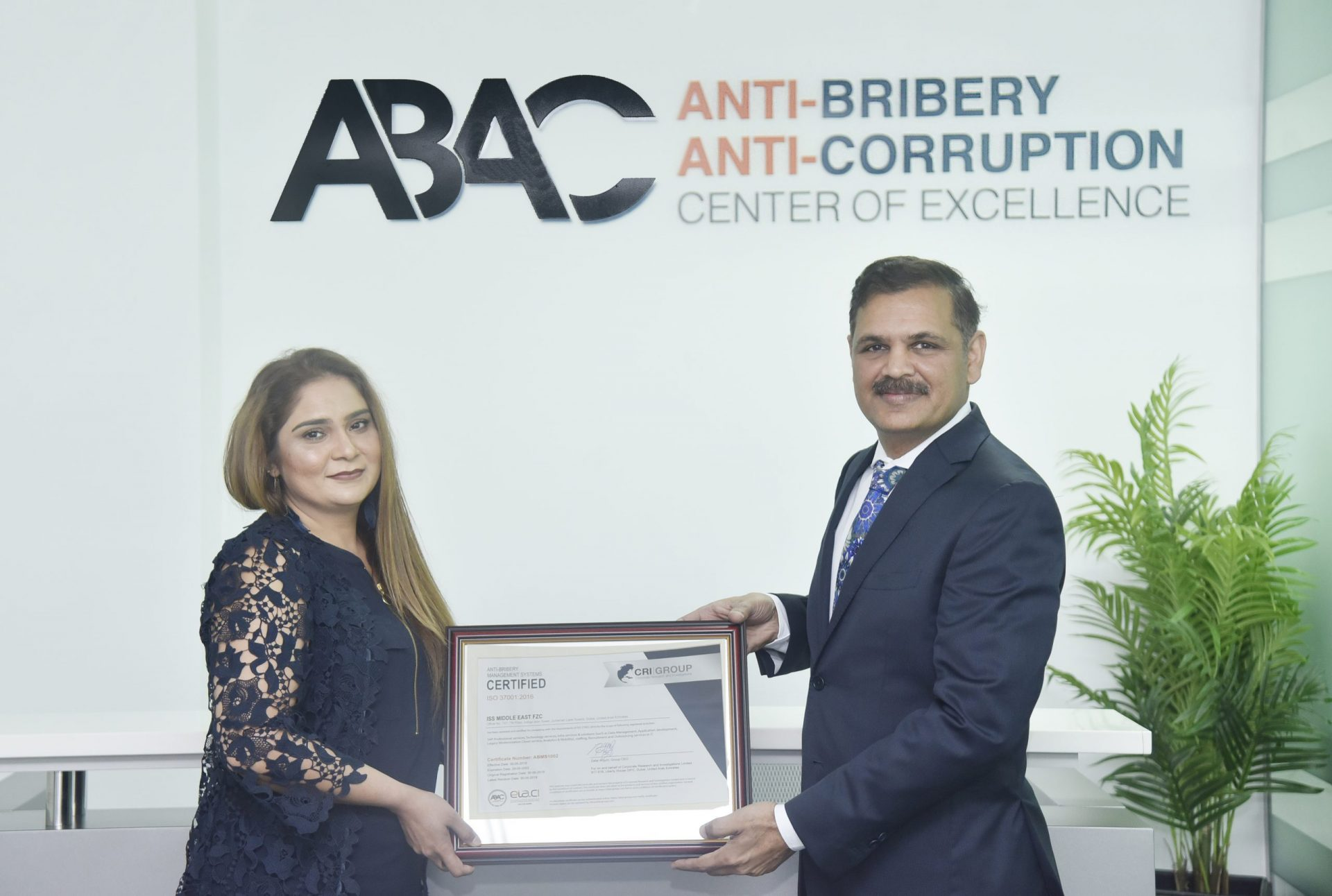 IntelliSoft achieves ISO 37001 ABMS Certification